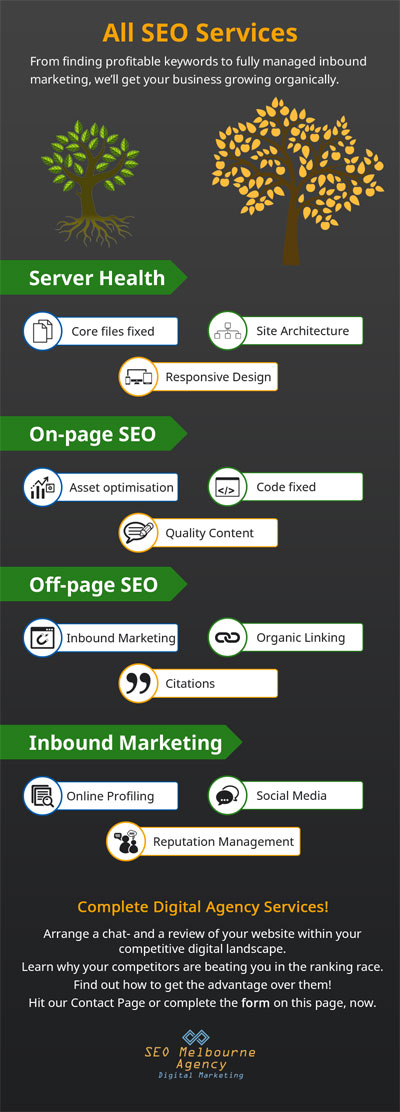 Melbourne SEO company delivers a full suite of digital marketing services