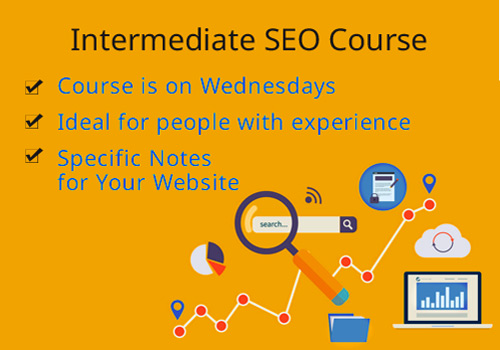 course outline for intermediate SEO students