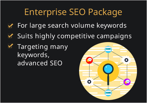 high intensity SEO plan for competitive markets