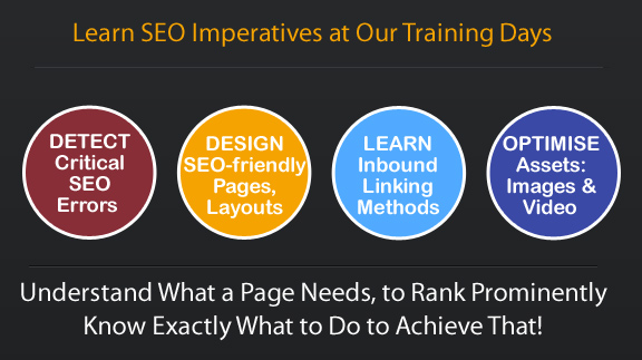 fundamental areas of SEO addressed during training