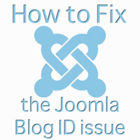 Removing Joomla Blog IDs from URLs